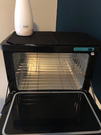 Dermalogic Stainless Towel Warmer with UV Light Sterilizer 20L