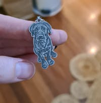 Silvercut™ Keychain