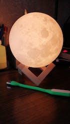 3D Magical Moon Light Lamp