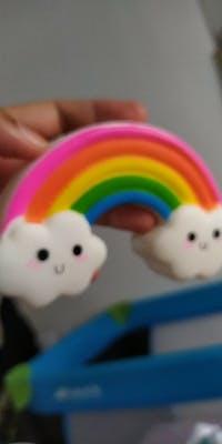 Squishy rainbow
