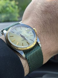Cross NATO (Adjustable) - Mint Green