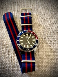 Basic NATO - Navy Blue / Red
