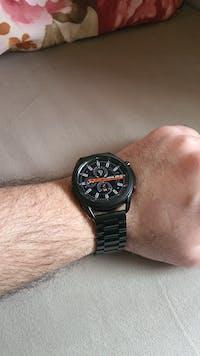 [Quick Release] Steel Bracelet (Black) - Deployment Clasp