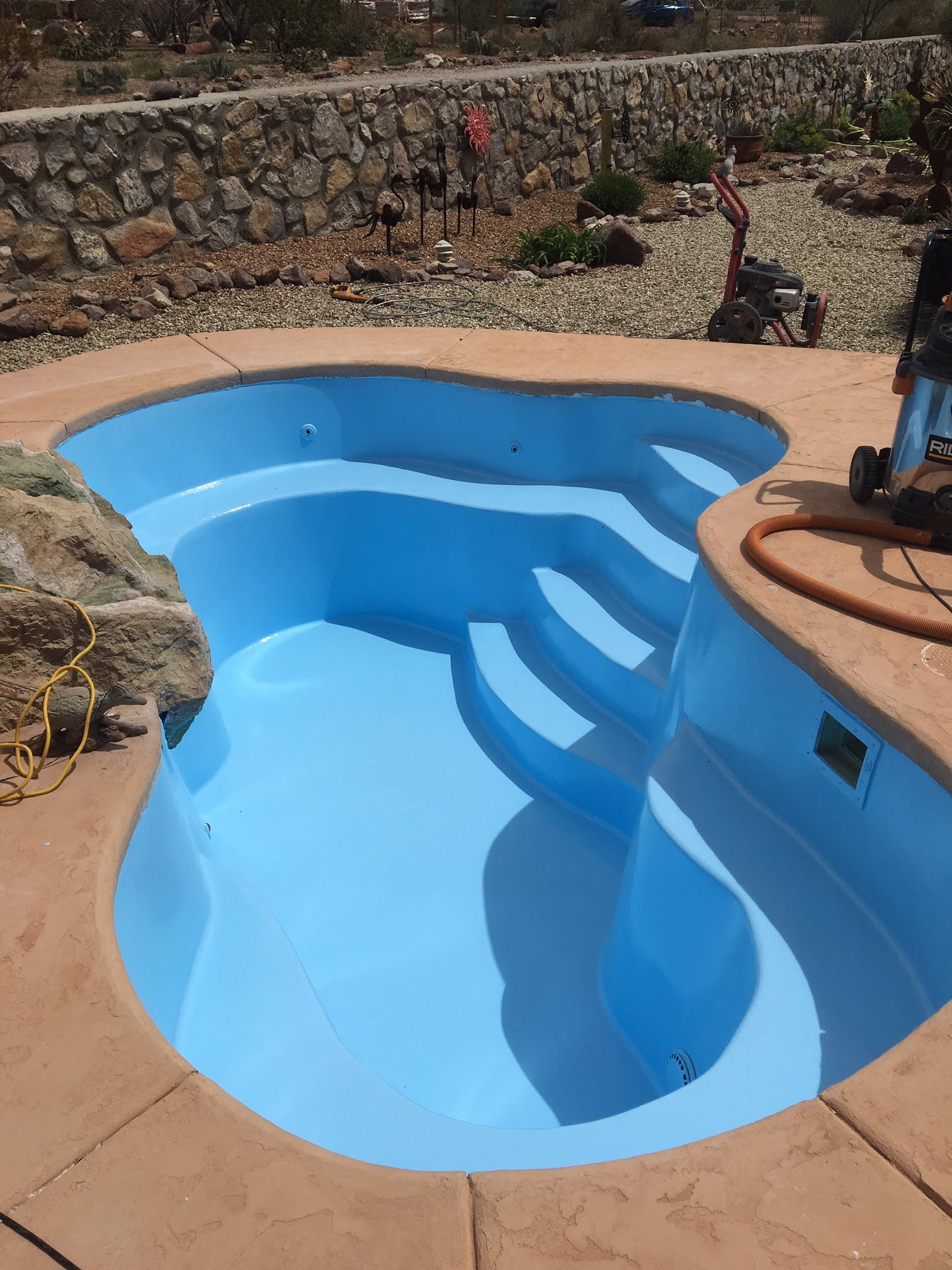 Olympic Zeron Epoxy Pool Paint at Sunplay