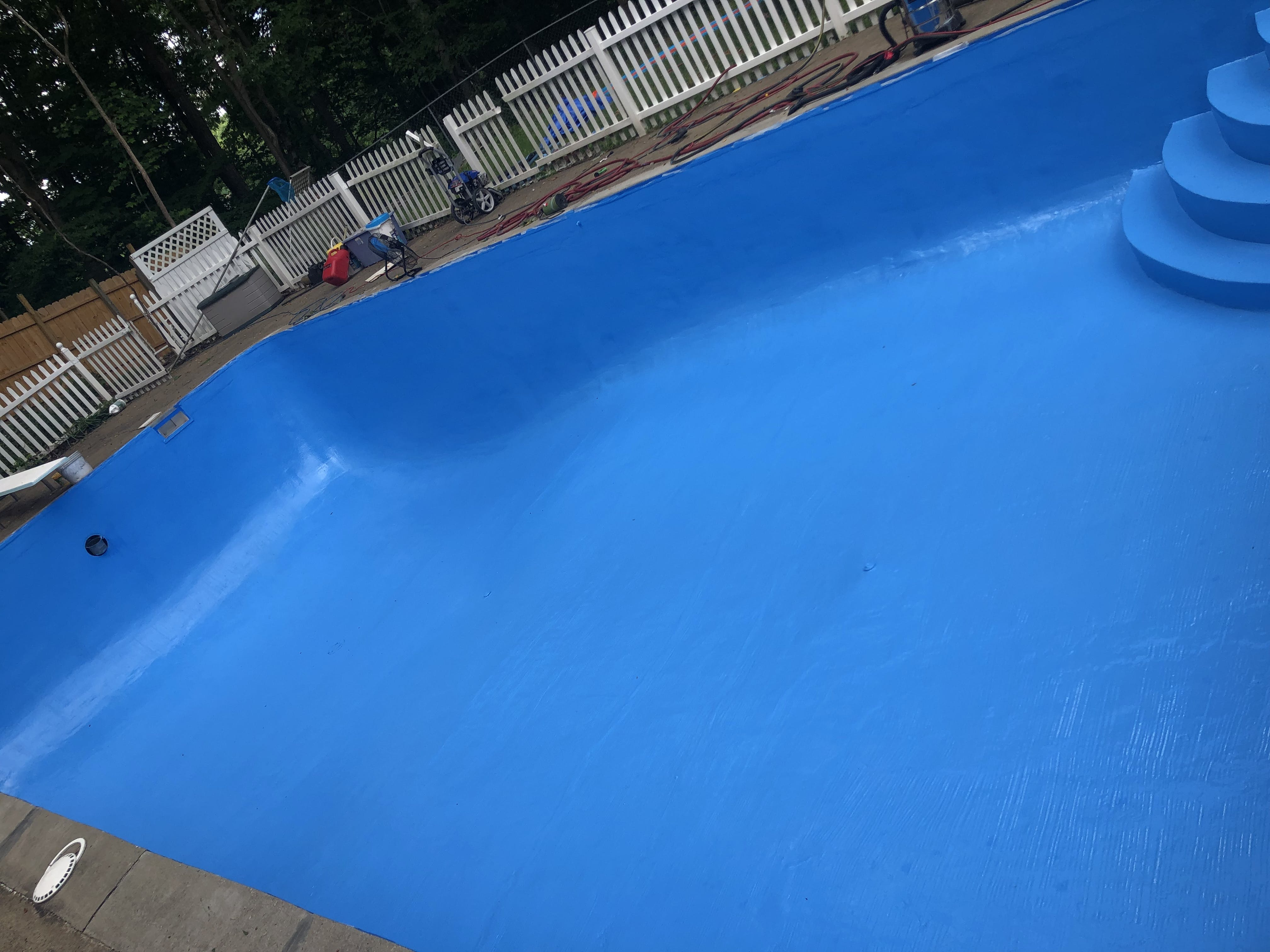 Olympic Poxolon 2 Epoxy Pool Paint At Sunplay