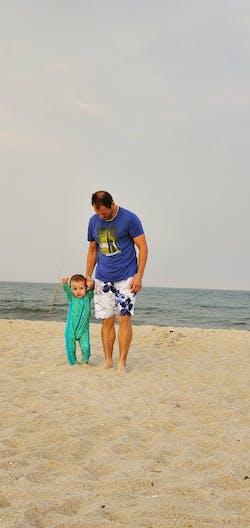 "Sunsuit - Long Sleeve Romper Swimsuit with UPF 50+ UV Sun Protection | ""Seashell"""