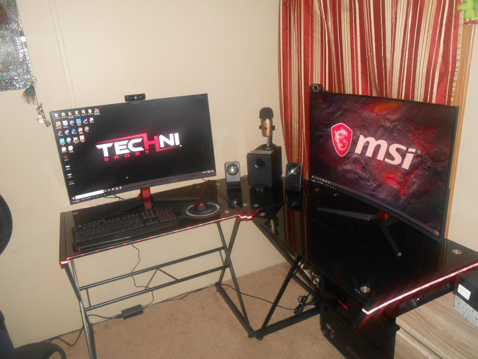 Gaming Desk Techni Sport Rigel