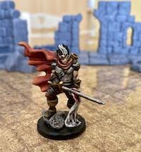Drow guerriero miniatura