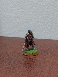 Lydia Umana cavaliere guerriero predatore miniatura 3D