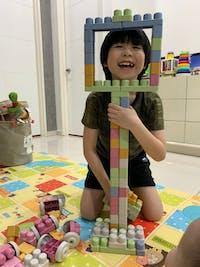 Mijoy Rice Husk Toy Blocks 60 Pieces