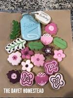 Mothers Day Bouquet Platter Set - Cutters