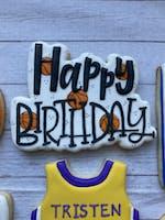 Happy Birthday Plaque (ONE) - Cutter