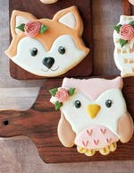 Floral Fall Owl - Cutter