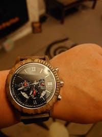 Milan - Chronograph Wood Watch
