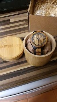 Madrid - Minimalist Wood Watch