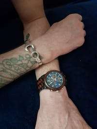 Lisbon - Chronograph Wood Watch