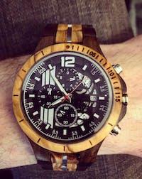 Dublin - Chronograph Wood Watch