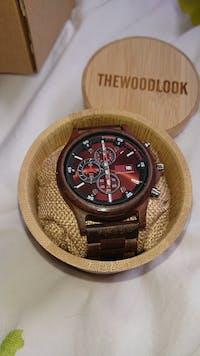 Edinburgh - Chronograph Wood Watch