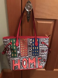 """""""HOME"""" by Edward K. Weatherly - Timeless Tote Bag"""