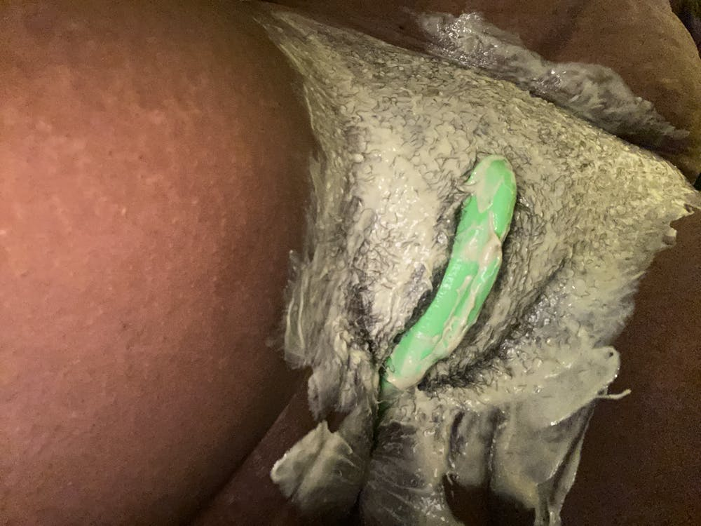 Spearmint and Matcha Hair Removal