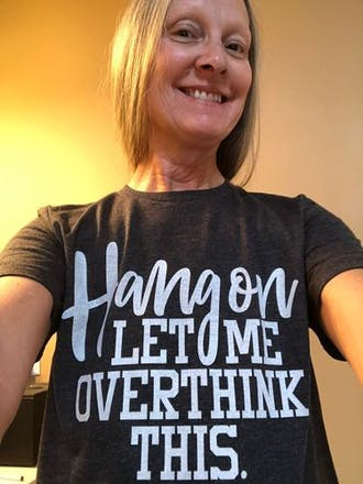 Hang on Let Me Overthink This Unisex Jersey Tee