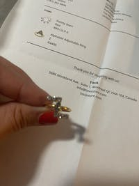 Alphabet Adjustable Ring