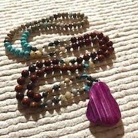 Luxury Purple - Boho Necklace