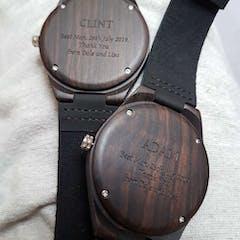 Dakota | Ebony Wood Watch | Wooden Watches UK