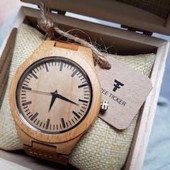 Hoku III | Bamboo Watch | Wooden Watches UK