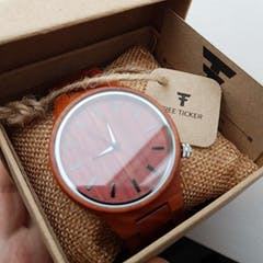 Madera | Red Sandalwood Watch | Wooden Watches UK