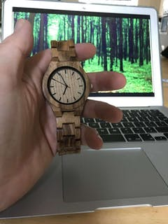 Zahra | Zebra Wood Watch | Wooden Watches UK