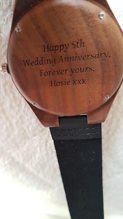 Dakota II | Walnut Wood Watch | Wooden Watches UK
