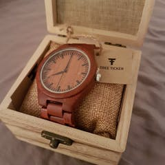Kirabo | Redwood Watch | Wooden Watches UK