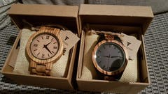 Nadu | Zebra Wood Watch | Wooden Watches UK