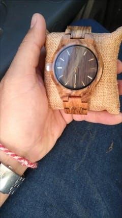 Kaena | Zebra Wood Watch | Wooden Watches UK