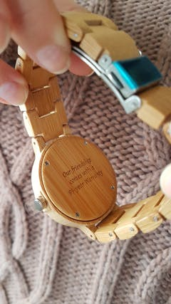 Akela | Bamboo Watch | Wooden Watches UK