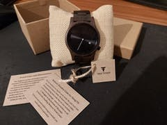 Marula I | Black Sandalwood Watch | Wooden Watches UK