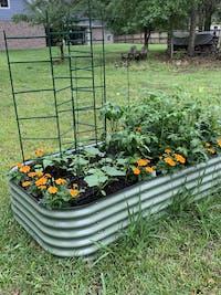 10 In 1 Modular Metal Raised Garden Bed Kit
