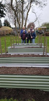 9 In 1 Modular Metal Raised Garden Bed Kit