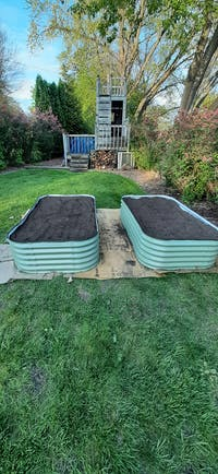9 In 1 Modular Metal Raised Garden Bed Kit