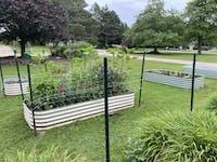 "17"" Tall 10 In 1 Modular Metal Raised Garden Bed Kit"