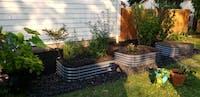 "17"" Tall 6 In 1 Modular Metal Raised Garden Bed Kit"