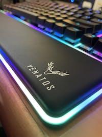 Venatos Northern Glow TKL Hot Swappable Optical Keyboard
