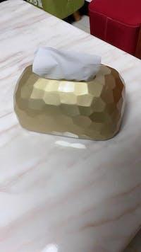 Terrax™ Tissue Box - 6 Colors