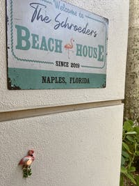 Personalized Beach House Welcome Customized Classic Metal Signs