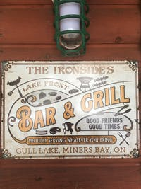 Personalized Grilling Proudly Serving Color Customized Classic Metal Signs