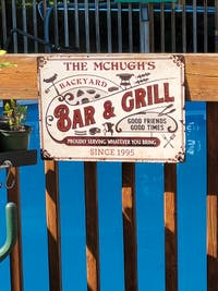 Personalized Grilling Proudly Serving You Bring Customized Classic Metal Signs