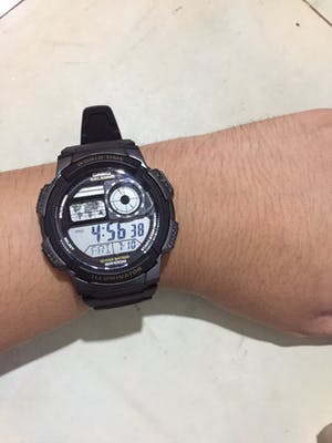 Casio AE-1000W-1A  Black Resin Strap Watch For Men