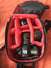 Multi-functional Waterproof DSLR Camera Backpack