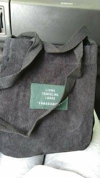 Vintage Corduroy Shoulder Bag